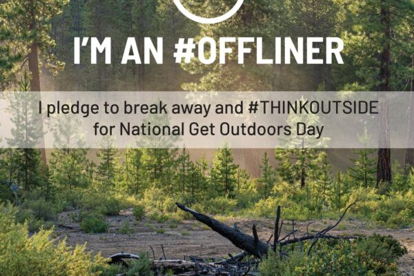 National Get Outdoors Day!